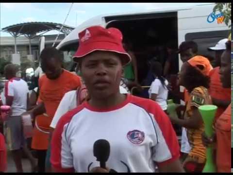 War between Mbabane Swallows and Orapa United Football fans has begun
