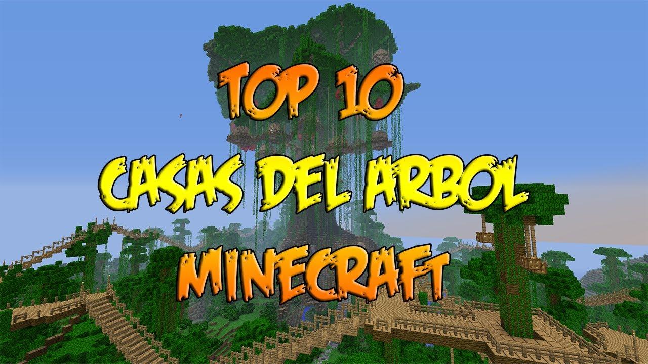 Top 10 casas del rbol minecraft construcciones las - Construcciones de casas ...