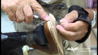 Vittorio Spernanzoni - Bentivegna construction italian shoes handmade
