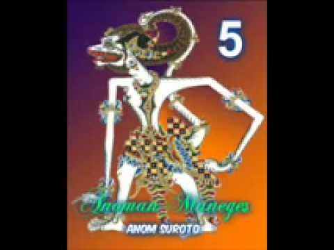 Wayang Kulit Dalang Kondang Anom Suroto Lakon ~ ANOMAN MANEGES Part 58