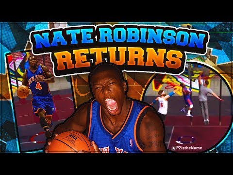 MIDGET SLASHER NATE ROBINSON RETURNS TO THE PARK! 5'10 MINI SLASHER IS OVERPOWERED! NBA 2K18