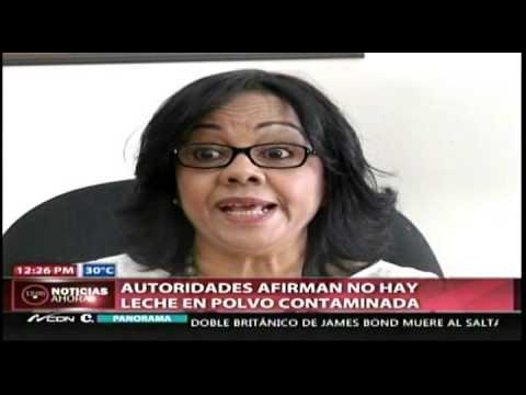 Autoridades Afirman No Hay Leche En Polvo Contaminada