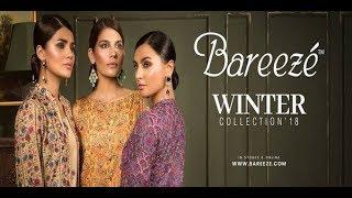 Stylish Bareeze Winter Collection 2018