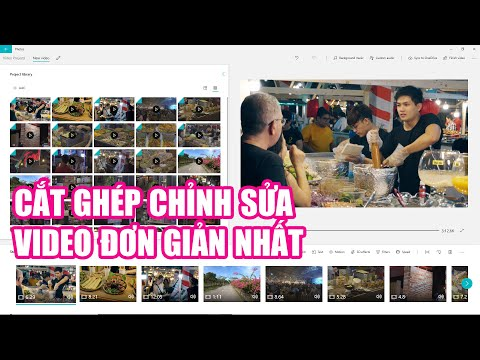 Phần mềm CẮT GHÉP - CHỈNH SỬA VIDEO trên máy tính đơn giản nhất
