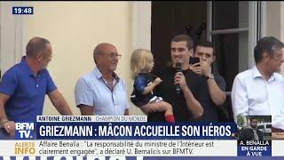 """Antoine Griezmann de retour à Mâcon: """"C"""