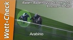 Wett-Check Baden-Baden - 20.10.2019