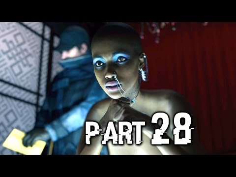 Watch Dogs Gameplay Walkthrough Part 28 - Strip Club (PS4)