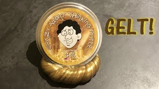 Crazy Aaron's Gelt (Gold) Thinking Putty