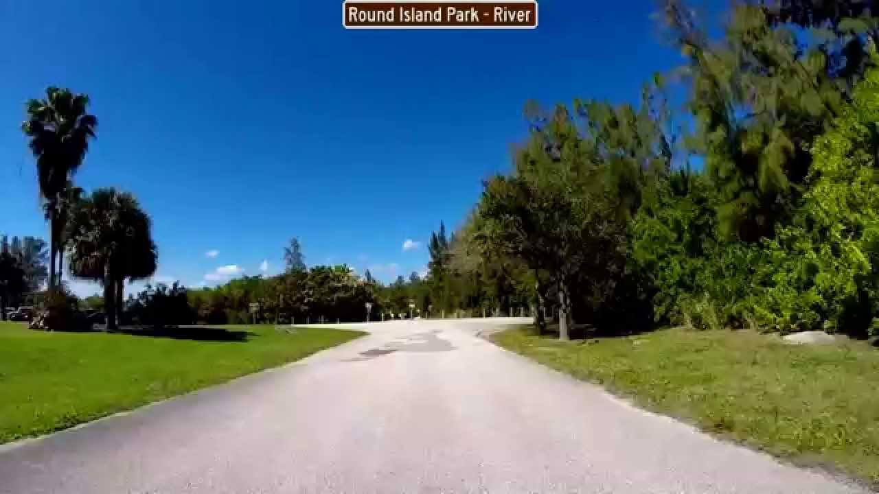 Drive Through Round Island Park On The Indian River Vero Beach Florida