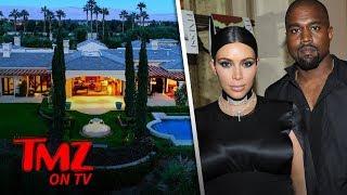 Kim & Kanye Buying A Vacay Home Next Door To Kris! | TMZ TV