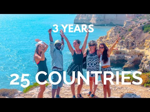 One Backpack & 25 Countries | Cinematic Travel Video (4K)