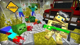 Живи! Только живи! [ЧАСТЬ 6] Зомби апокалипсис в майнкрафт! - (Minecraft - Сериал)