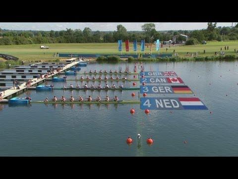 Men's Eight Rowing Heats Highlights - London 2012 Olympics |