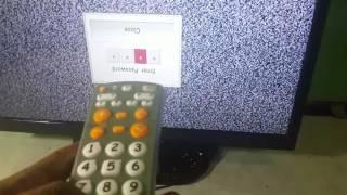 Tv LED gambar terbalik