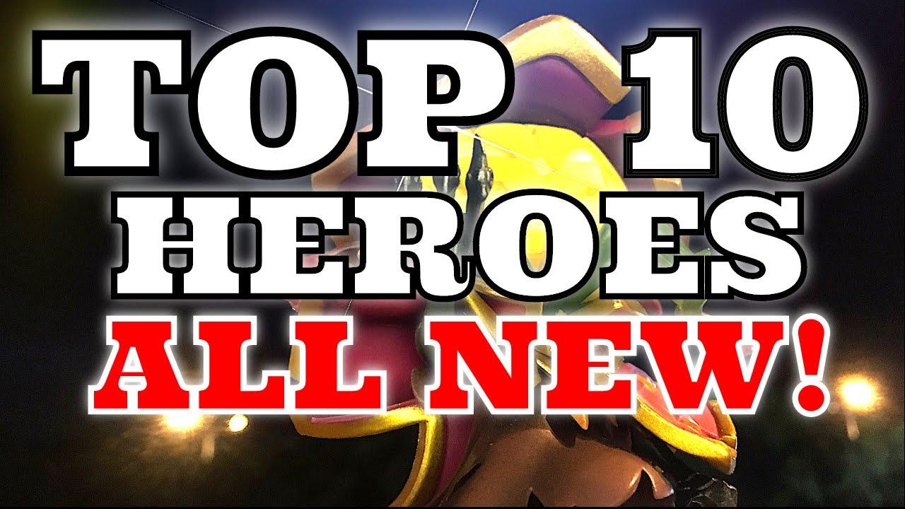 Castle Clash Best Heroes 2021 ALL NEW! Castle Clash TOP 10 Heroes TOP 10 Castle Clash Heroes