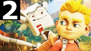 Rad Rodgers World One Gameplay Part 2 - Level 3 - Walkthrough (No Commentary Playthrough)