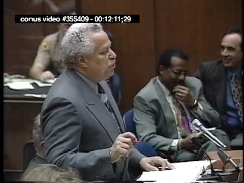 OJ Simpson Trial - February 8th, 1995 - Part 1