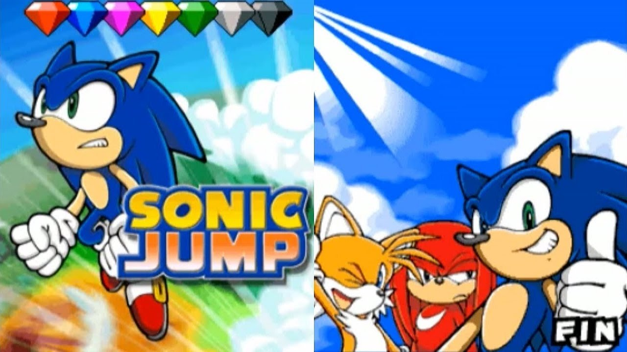 sonic jump gameplay mobile