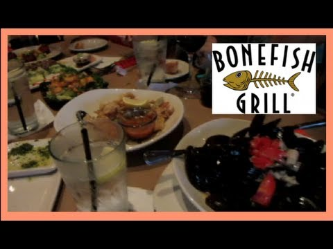 TRIP TO FLORIDA AND BONEFISH GRILL VLOG