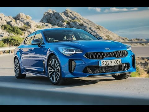 new car kia stinger gt line 2 0 t gdi review youtube. Black Bedroom Furniture Sets. Home Design Ideas