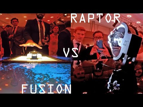 Raptor VS Fusion: Clash of the Titans! The two furtive display cases from Hublot at the EHL.