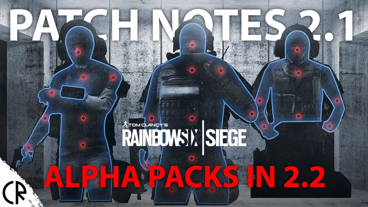 Patch Notes 2 1 - Hitbox changes! - Tom Clancy's Rainbow Six Siege R6