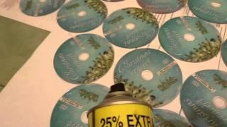 видео Печать на DVD дисках