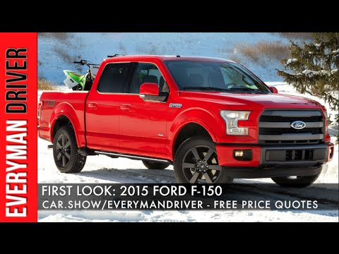 Here's the 2015 Ford F-150 First Look on Everyman Driver
