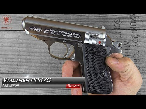 The NEW Walther PPK/S Tabletop Review and Field Strip