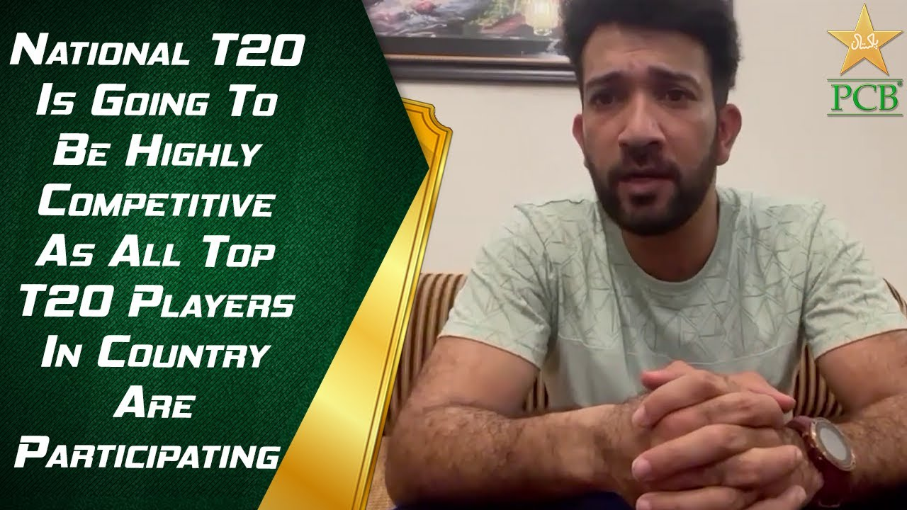 National T20 Is Going To Be Highly Competitive As All Top T20 Players In Country Are Participating