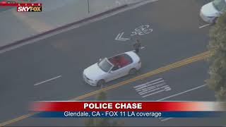 POLICE CHASE In California - Wait Until THE END