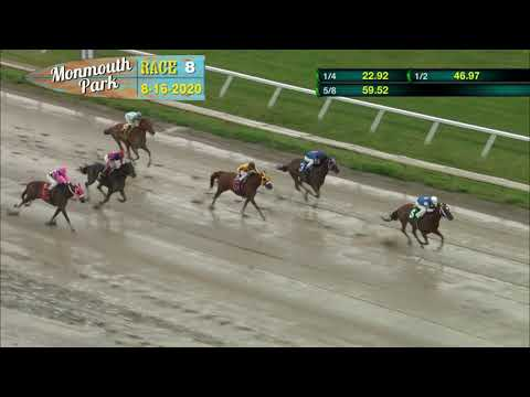 video thumbnail for MONMOUTH PARK 08-16-20 RACE 8