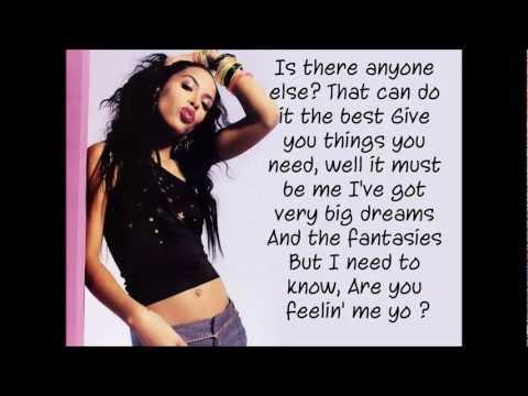 Aaliyah - Are You Feeling Me (Lyrics On Screen)