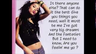 Aaliyah - Are You Feeling Me (Lyrics On Screen)