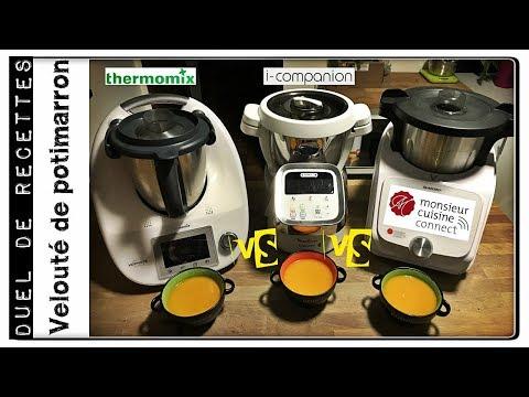 duel-de-recettes-:-veloute-de-potimarron-(monsieur-cuisine-connect-vs-i-companion-vs-thermomix)