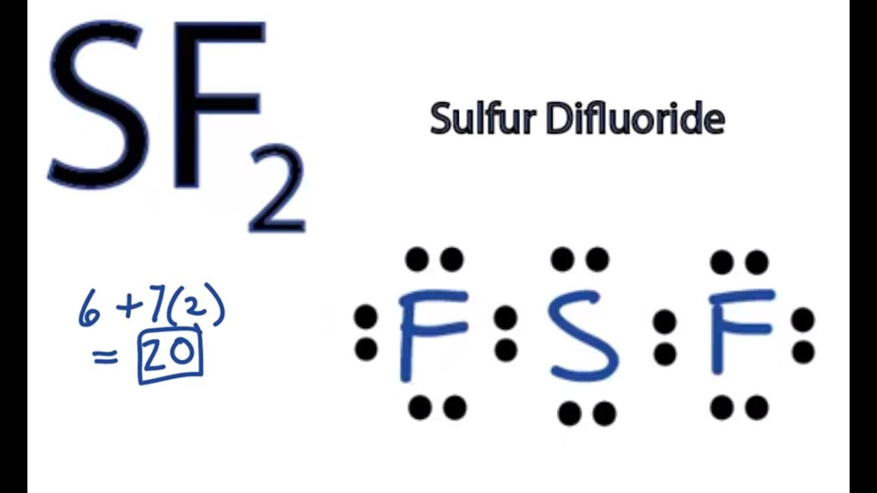 Sf2 Lewis Structure