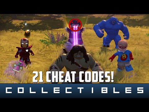 LEGO Marvel's Avengers - 21 Cheat Codes (Characters and Vehicles)