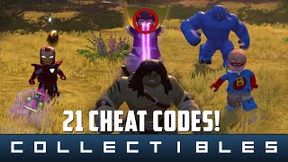 lego marvel s avengers 21 cheat codes characters and vehicles