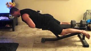 How To Do Back Extensions Off Of A Standard Bench