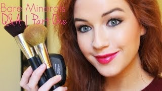 Bare Minerals Q&A (Brushes, Primers, Foundation etc.) | Part One