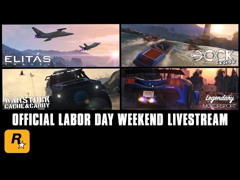 GTA Online Livestream: Bonus RP & GTA$ Money Labor Day Weekend Jobs