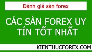 Các sàn forex uy tín, tốt nhất tại Việt Nam 2020