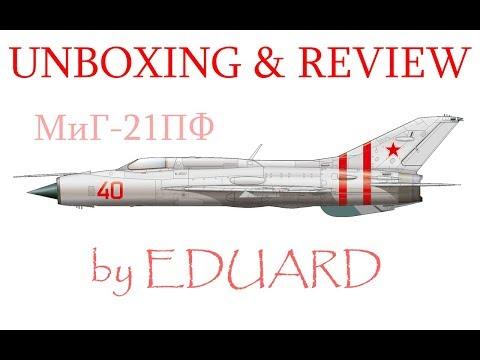 MiG-21PF Eduard #8236 ProfiPack  Unboxing...