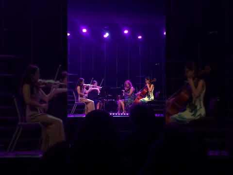 UHS Fresno string quartet Love in an Open Door
