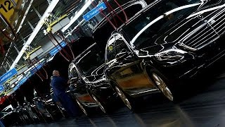 German GDP growth at five year high - economy