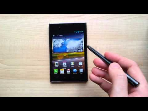 LG Optimus Vu hands-on