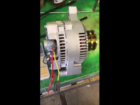 Bosch Internal Regulator Alternator Wiring Diagram 2012 Honda Accord Ford Externally Regulated Youtube 1988 F250 7 3 Idi Diesel 1g To 3g Upgrade
