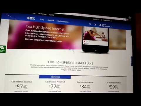 COX Cable Internet Pricing Is A Scam