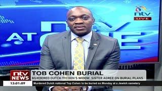 Sarah Wairimu seeks to attend her husband Tob Cohen's burial