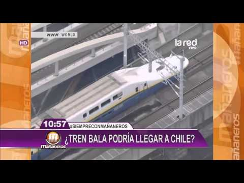 Idea de tener un tren bala en Chile es furor en redes sociales